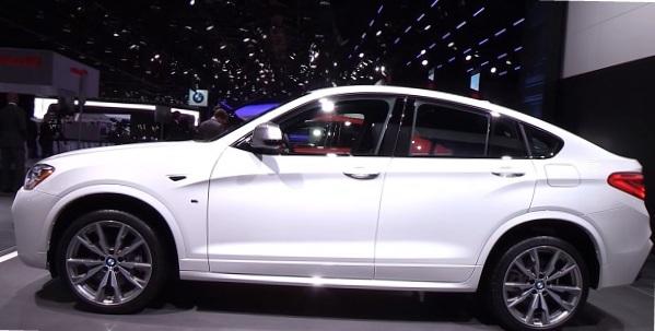 BMW X4 M40i 2016.