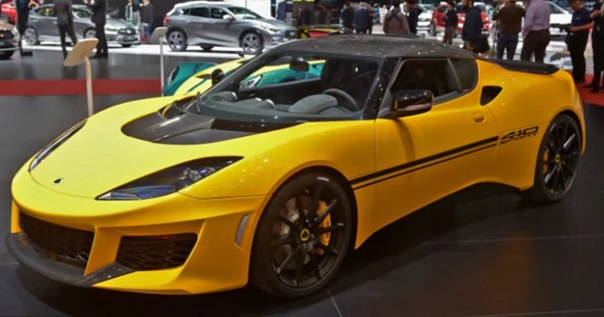 Lotus Evora Sport 410 2016.