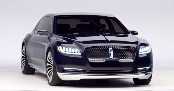 Lincoln Continental 2016.