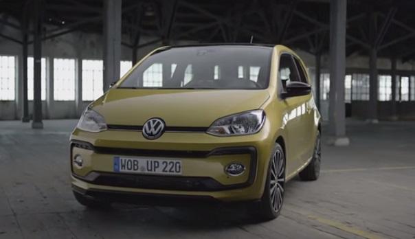 The new Volkswagen up 2016.