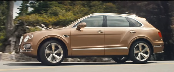 Crossover Bentley Bentayga 2016.