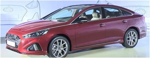 Hyundai Sonata 2017.