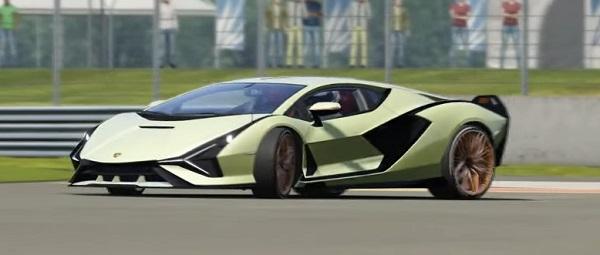 Lamborghini Sian 2020.