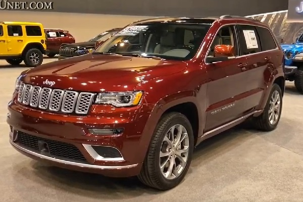 Jeep Grand Cherokee 2021.