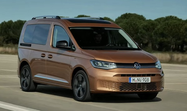 Volkswagen Caddy 5th generation.