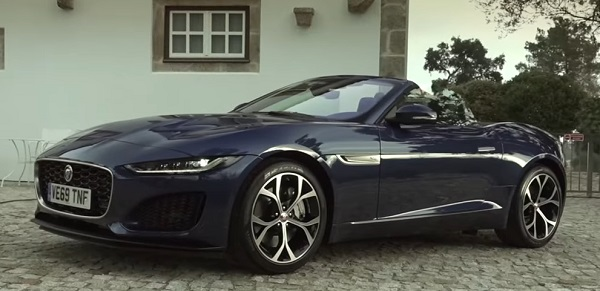 Jaguar F-Type 2021..