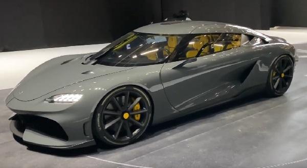 Koenigsegg Gemera (1700hp).