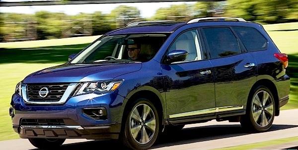 Nissan Pathfinder 2021.