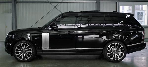 Range Rover Evoque 2021.