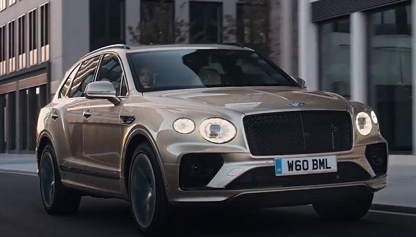 Bentley Bentayga Hybrid 2021.