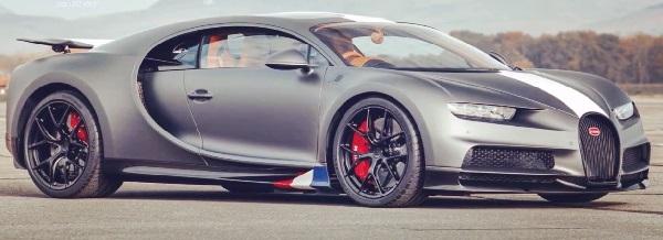 Bugatti Chiron Sport Les Légendes du Ciel 2021.