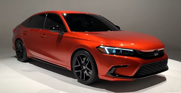 Honda Civic Prototype 2022.