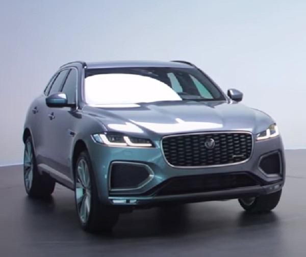 Jaguar F-Pace 2021.