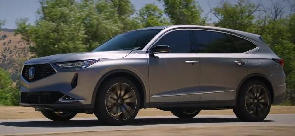 New Acura MDX 2021.