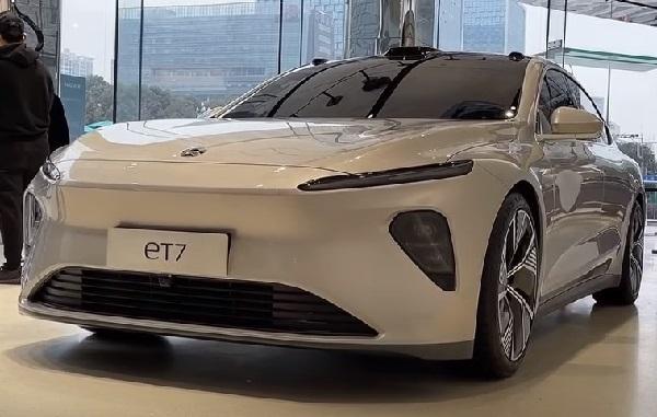 Nio ET7 2022.