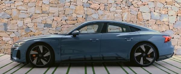 Audi E-Tron GT 2022.