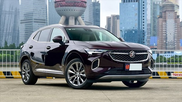 Buick Envision 2021.