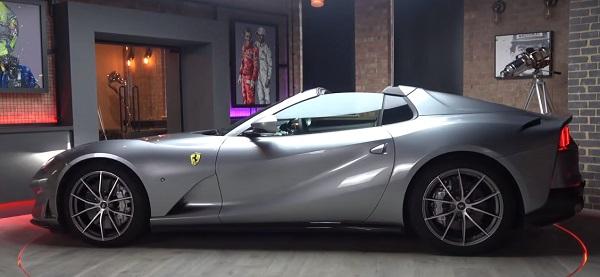 Ferrari 812 GTS 2021.