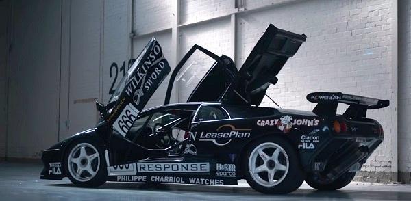 Lamborghini Diablo SV-R.