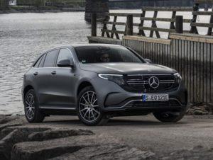 Mercedes EQC 2021.