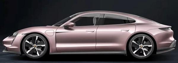 Porsche Taycan RWD 2021.