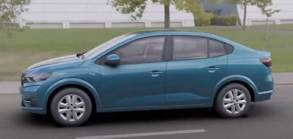 Renault Logan 2021.