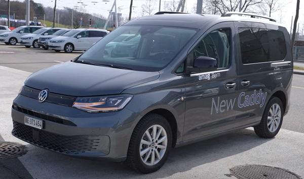 Volkswagen Caddy 2021.