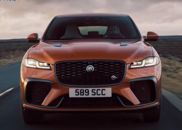 Jaguar F-Pace SVR 2021.