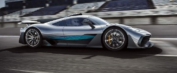 Mercedes-AMG One 2021.