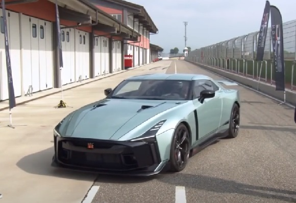 Nissan GT-R50 Italdesign 2021.