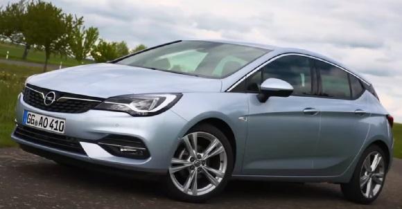 Opel Astra 2021.