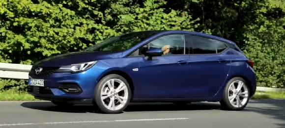 Opel Astra 2022.