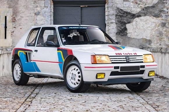 Peugeot 205 Turbo 16 2021.