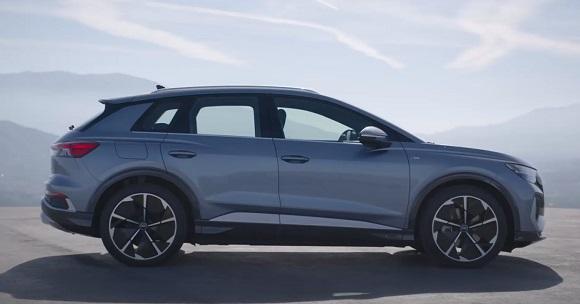 Audi Q4 e-tron 2021.