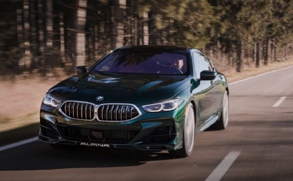 BMW Alpina B8 Gran Coupe 2022.