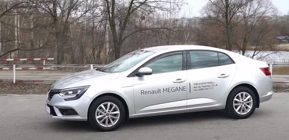 Renault Megane 2021.