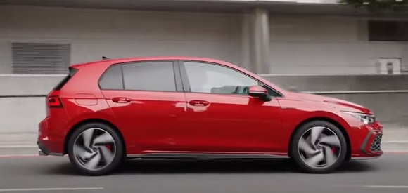 Volkswagen Golf 8 GTI 2021.
