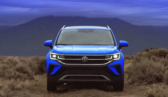 Volkswagen Taos 2021-2022.