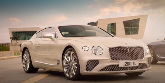 Bentley Continental GT Mulliner 2021.