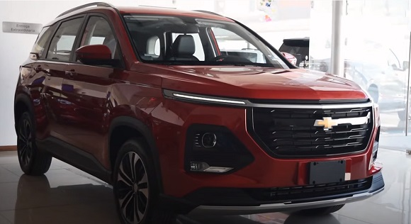 Chevrolet Captiva 2022.