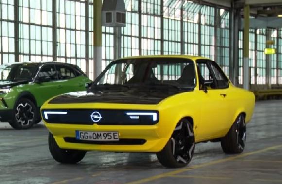 Opel Manta GSe ElektroMOD 2021.
