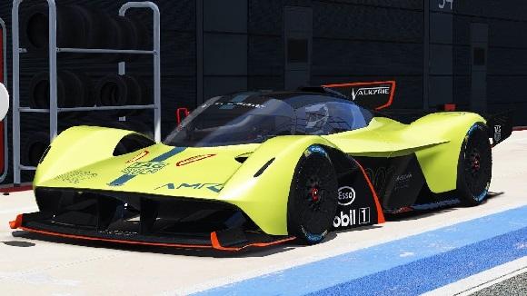 Aston Martin Valkyrie AMR Pro 2022.