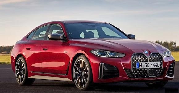 BMW 4-Series Gran Coupe 2022.