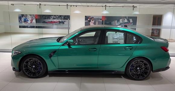 BMW M3 2022.