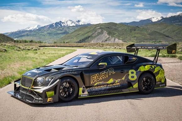 Bentley Continental GT3 Pikes Peak 2022.
