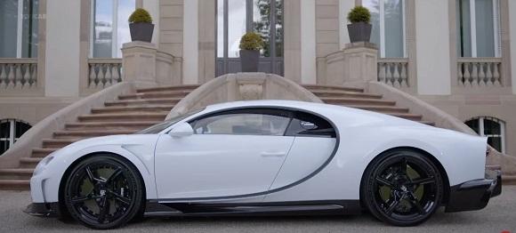 Bugatti Chiron Super Sport 2022.