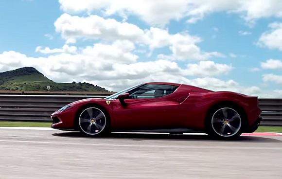 Ferrari 296 GTB 2022.