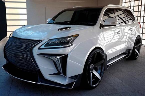 Lexus LX750h 2022.