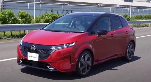 Nissan Note Aura 2021.