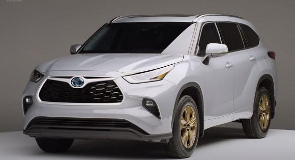 Toyota Highlander Bronze 2022.